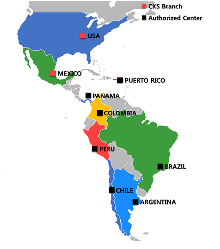 All Latin American Countries 43